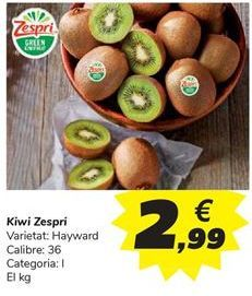 Oferta de Kiri Zespri por 2,99€