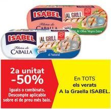 Oferta de En TODAS las caballas Al Grill ISABEL  por
