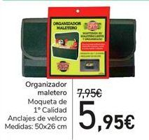 Oferta de Organizador maletero  por 5,95€