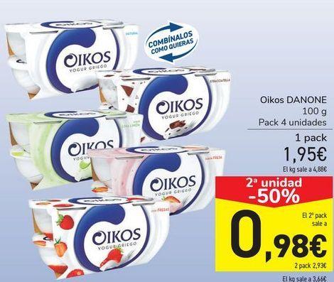 Oferta de Oikos DANONE por 1,95€