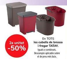 Oferta de En TODOS los cubos de basura fregar TATAY  por