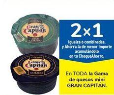 Oferta de En TODA la Gama de quesos mini GRAN CAPITÁN por