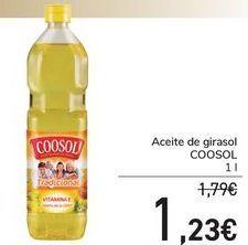 Oferta de Aceite de girasol COOSOL  por 1,23€