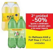 Oferta de En refresco Kas Y 7up Free  por