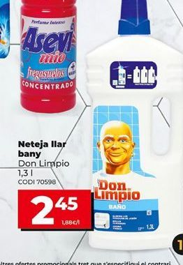 Oferta de Limpiador de baños Don Limpio por 2,45€