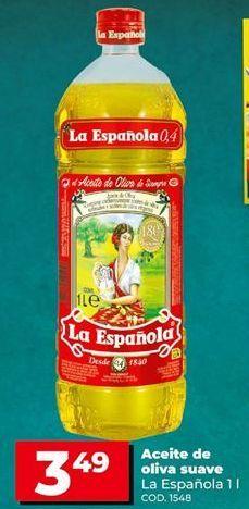 Oferta de Aceite de oliva La Española por 3,49€