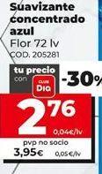 Oferta de Suavizante Flor por 3,95€