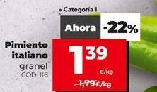 Oferta de Pimientos por 1,39€