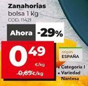 Oferta de Zanahorias por 0,49€