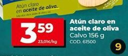 Oferta de Atún claro por 3,59€