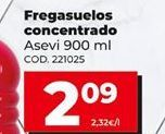 Oferta de Fregasuelos Asevi por 2,09€