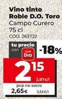 Oferta de Vino tinto por 2,35€