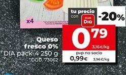 Oferta de Queso fresco por 0,99€