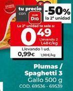 Oferta de Fideos por 0,99€