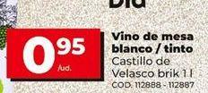 Oferta de Vino de mesa por 0,95€