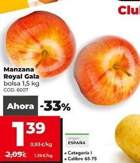 Oferta de Manzanas por 1,39€