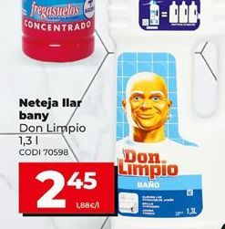 Oferta de Limpiahogar Don Limpio por 2,45€