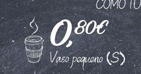 Oferta de Vasos por 0,8€