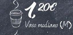 Oferta de Vasos por 1,2€