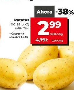 Oferta de Patatas por 2,99€