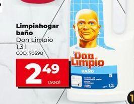 Oferta de Limpiahogar por 2,49€