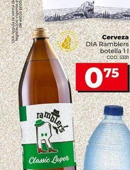 Oferta de Cerveza en botella por 0,75€