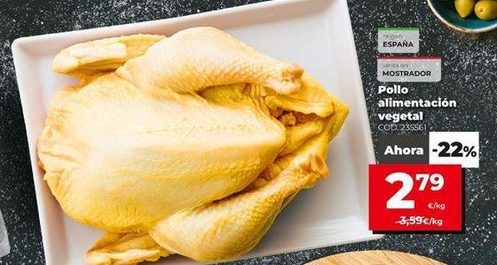 Oferta de Pollo por 2,79€