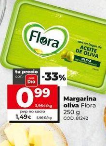 Oferta de Margarina Flora por 1,49€