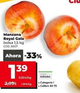 Oferta de Manzana Royal Gala por 1,39€