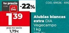 Oferta de Alubias blancas por 1,39€