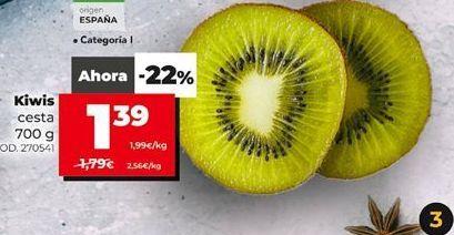 Oferta de Kiwis por 1,39€