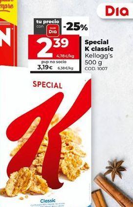 Oferta de Specials Kellogg's por 2,39€