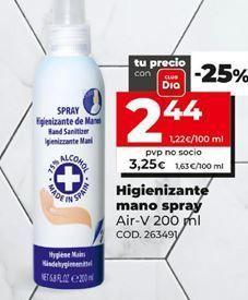 Oferta de Spray limpiador higienizante por 2,44€