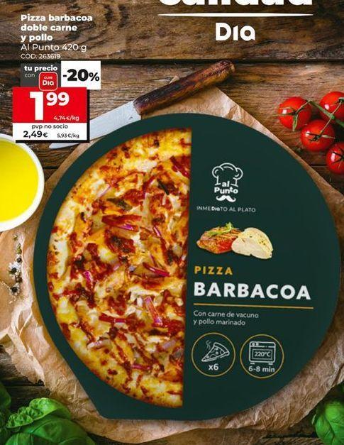 Oferta de Pizza barbacoa por 1,99€