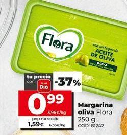 Oferta de Margarina Flora por 0,99€