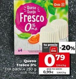 Oferta de Queso fresco por 0,79€