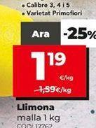 Oferta de Limones por 1,19€