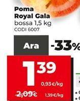 Oferta de Manzanas Royal por 1,39€