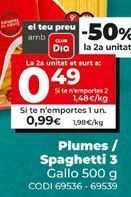 Oferta de Fideos Gallo por 0,99€