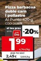 Oferta de Pizza barbacoa por 2,49€