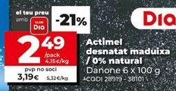 Oferta de Actimel por 3,19€