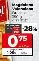 Oferta de Magdalenas por 1,05€