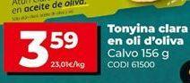 Oferta de Atún claro Calvo por 3,59€