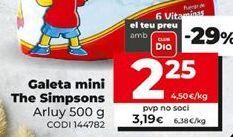 Oferta de Galletas Arluy por 3,19€