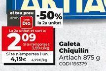 Oferta de Galletas Chiquilín por 4,19€