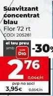 Oferta de Suavizante Flor por 4,95€