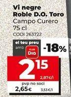 Oferta de Vino tinto por 2,65€