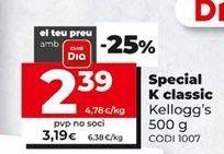 Oferta de Cereales Special K por 3,19€
