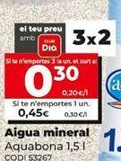 Oferta de Agua Aquabona por 0,45€