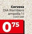 Oferta de Cerveza por 0,75€